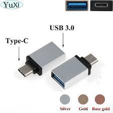 YuXi <b>2pcs USB</b> 3.1 <b>Type C</b> to <b>USB</b> 3.0 Adapter <b>USB Type C</b> OTG ...