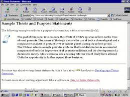 good thesis statements for essays  writing the paper example of  example of thesis statement paragraph