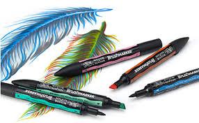 Afbeeldingsresultaat voor brush marker winsor & newton