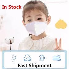 <b>20pcs Children</b> PM 2.5 <b>KN95</b> Dustproof Mask Safety Breathable ...