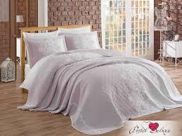 <b>Покрывало</b> tiphanie цвет: лиловый (250х260 см) <b>hobby home</b> ...