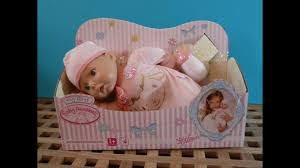 <b>My First</b> Baby Annabelle Doll Toy Review <b>Zapf Creations</b> - YouTube