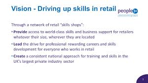 performance through people jane rexworthy executive director ppt 7 7 vision driving up skills in retail