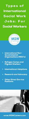 types of international social work jobs for social workers types of international social work jobs