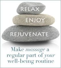 Image result for massage therapy with stones picture relax rejuvenate