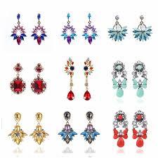 EK348 <b>Exaggerated</b> Brand Geometric Circle Drop Earrings For ...