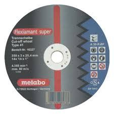 <b>Диск</b> отрезной <b>METABO Flexiamant</b> S 350x3,0x25,4 прям A36S ...