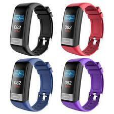 <b>C20S</b> Blood Pressure <b>Heart Rate</b> Monitor <b>ECG</b> IP67 Waterproof ...