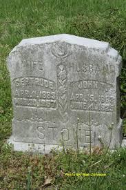 robertson fork cemetery stone