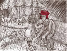 pin by too fond of books on j d salinger search holden and his sister phoebe from the book i love this book i was inspired by these artworks link link link the catcher in the rye