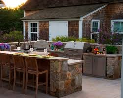 Countertop For Outdoor Kitchen Outdoor Kitchen Countertop Materials Outdoor Kitchen Design Among