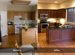 oak kitchen cabinets brown glazing kitchen cabinets as easy makeover you can do on your own glazi
