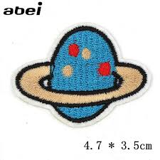<b>1PC</b> Kids Clothes Fabric Stickers <b>Embroidered</b> Iron On Garments ...