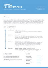 resume templates maker cv builder online inside  resume templates resume template for graphic designers amp web developers in 9 file in