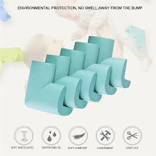 4pc <b>Baby</b> Safety <b>Corner</b> Protector Table Edge Protection Cover <b>Soft</b> ...