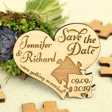 personalized puzzle heart <b>Bride Groom</b> name <b>wooden</b> Wedding ...