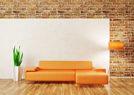 living room furniture yellow sofa in living room with brick wall yellow glubdubs brick living room furniture