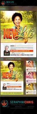 new life church flyer template by seraphimchris graphicriver new life church flyer template church flyers