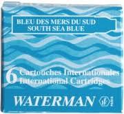 <b>Ручка перьевая</b> Waterman <b>Hemisphere</b> 2018, Bright Blue CT (Перо F)