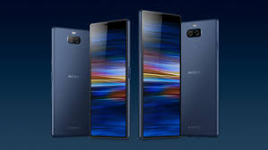Sony launches <b>new phones</b> with movie theater-<b>style</b> screens