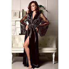 Shop <b>Women Sexy Sleepwear Nightgown</b> Satin Silk Babydoll Lace ...