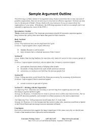 example of argumentative essay outline template example of argumentative essay outline