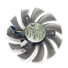 NEW 75mm <b>T128010SU</b> 4pin <b>DC12V</b> Cooler fan Replace for ...