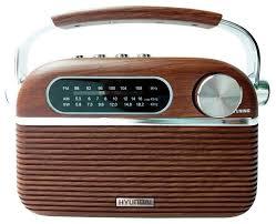 <b>Радиоприемник Hyundai H-PSR200</b> Дерево/Серебристый, купить ...