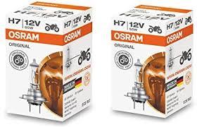 <b>Osram H7</b> Halogen Headlight Bulbs 64210L <b>12V 55W</b> Made In ...