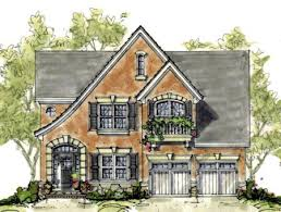 Tudor House Plan   Tudor  Tudor House and House plans