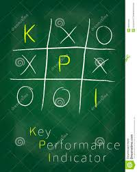 key performance indicator on blackboard stock photography image key performance indicator on blackboard