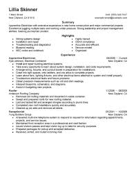 construction resume examples construction sample resumes apprentice electrician resume example