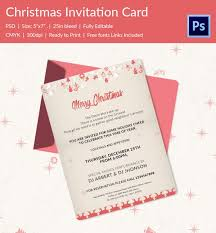 20 christmas party templates psd eps vector format christmas glow hanging stars party invitation template