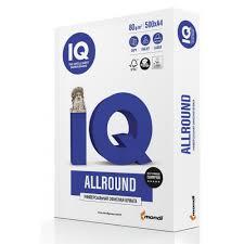 <b>Бумага IQ</b> Allround класс В+, А4, 80 г/м2, 500 л, купить, заказать в ...