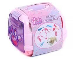 <b>Игровой набор Girl's club</b> Ветеринар 8 предметов+мягкая ...