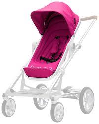 <b>Прогулочный блок</b> с подножкой для коляски <b>Seed Papilio</b> Pink ...