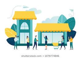 Retail <b>Store Cartoon</b> Images, Stock Photos & Vectors   Shutterstock