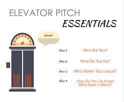 elevator speech university career elevator pitch infographic northwestern univ examples