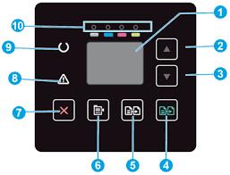 <b>Принтеры HP Color LaserJet</b> Pro M180 - Мигающие индикаторы ...