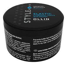 <b>Стайлинг</b>-<b>паста для волос Style</b> Elastic Paste 65г OLLIN ...