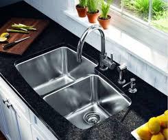 undermount kitchen sink stainless steel: undermount double bowl stainless steel kitchen sink kraus