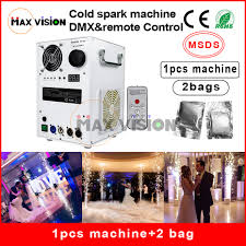 1pcs white Chassis And 2Bags Powder 400W Cold Spark Firework ...