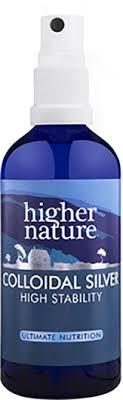 Colloidal <b>Silver</b> Natural Anti-Septic Spray | <b>Higher</b> Nature