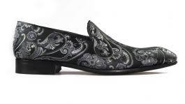 <b>Paisley Black</b> Loafer