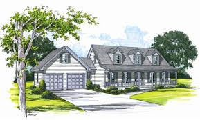 Cape Cod House Plan   Bedrooms and   Baths   Plan