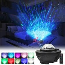 <b>LED Galaxy Starry Night</b> Light Projector Ocean Star Sky Party Lamp ...