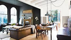 rustic style living room clever: rustic living room chesterfield couch dark walls mar