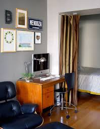 eclectic home office by galleryapartmenttherapycom apartment home office