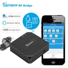 Smart Home & Surveillance <b>Sonoff Wireless 4</b> Channel WIFI Remote ...
