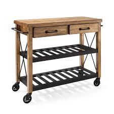 kitchen rolling cart interior